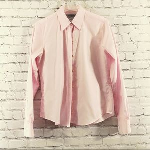 Brooks Brothers Pink Button Down Long Sleeve Shirt